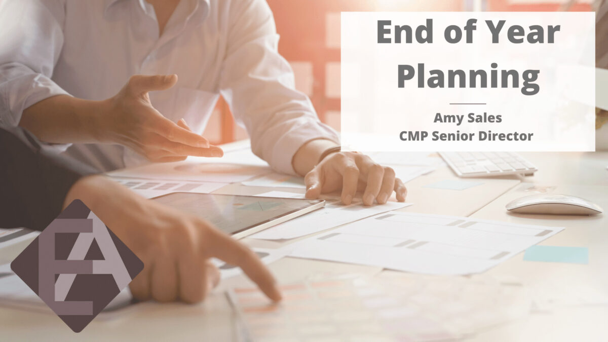 End of Year Planning – Goodbye 2020