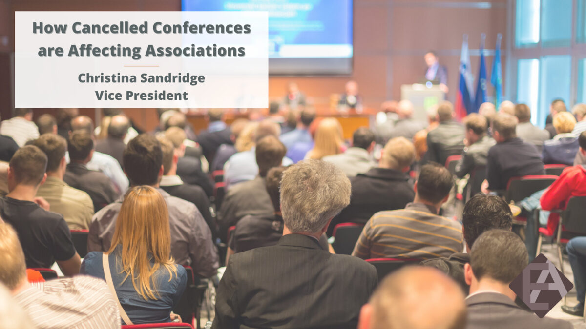 How Cancelled Conferences are Affecting Associations
